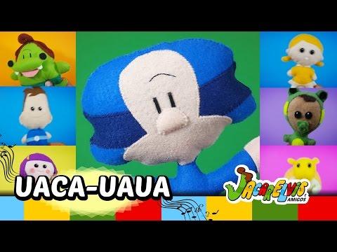 UACA-UAUA - Clipe do Jacarelvis e Amigos - vol. 03