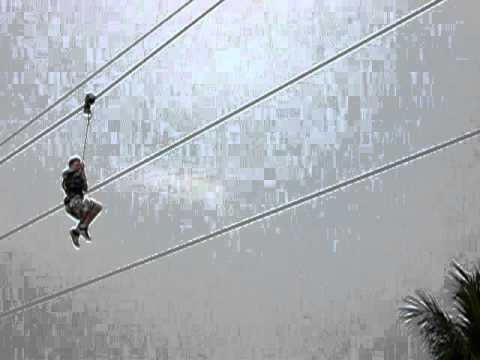 Zac on a Zip Wire in Singapore.MOV