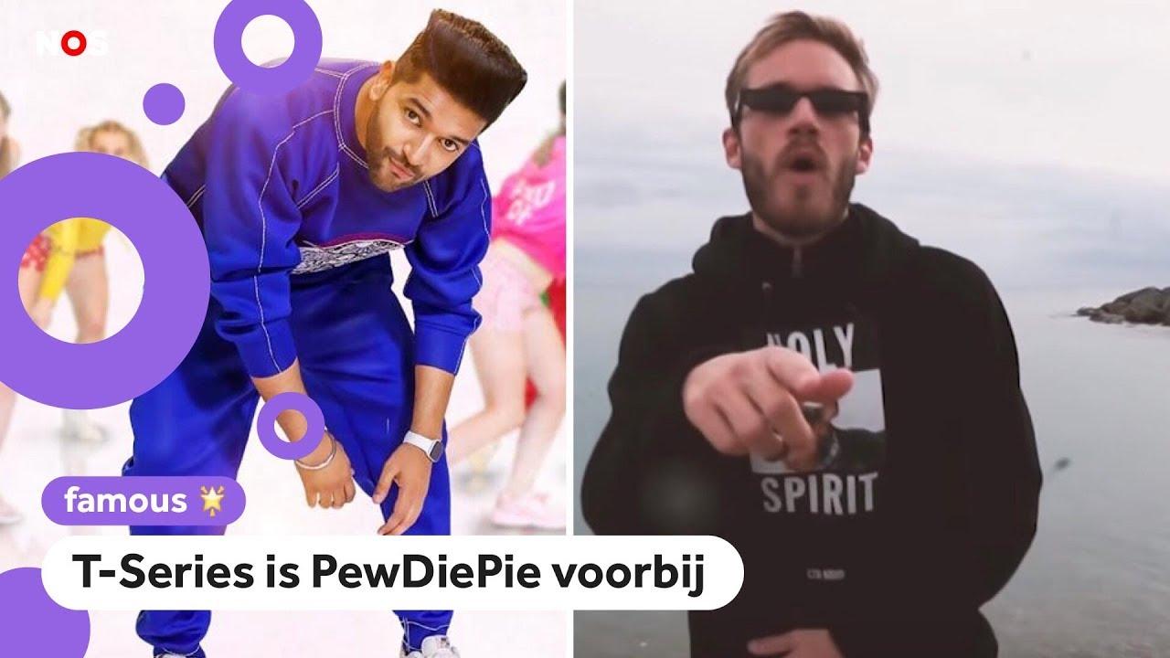 PewDiePie is niet meer de grootste op YouTube
