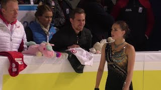 Alina Zagitova GP France 2019 FS FULL Practice HQ