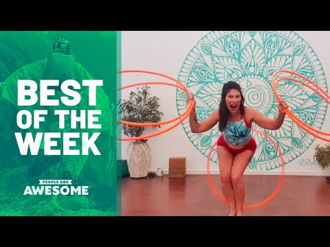 Best of the Week: Kettlebell Tricks, Hula Hoops and more | People Are Awesome