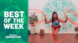 Kettlebell Tricks, Hula Hoops and more | Best of the Week Video