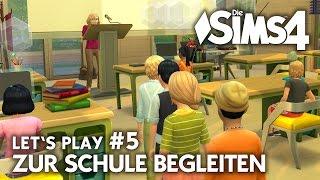 Let's Play Die Sims 4 in der Schule #5 Grundschule Einführungstag | Gameplay (deutsch)