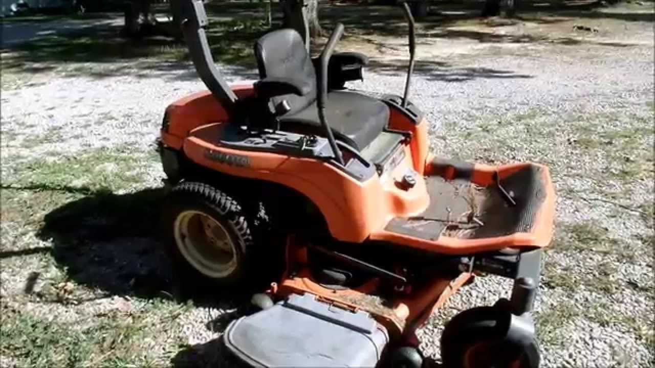 Electrical Wiring Diagram For Kubota Zg23 Diagrams Charging System Youtube Left Drive Quick Fix Rh Com