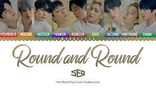 Download lagu SF9 Round and Round Lyrics