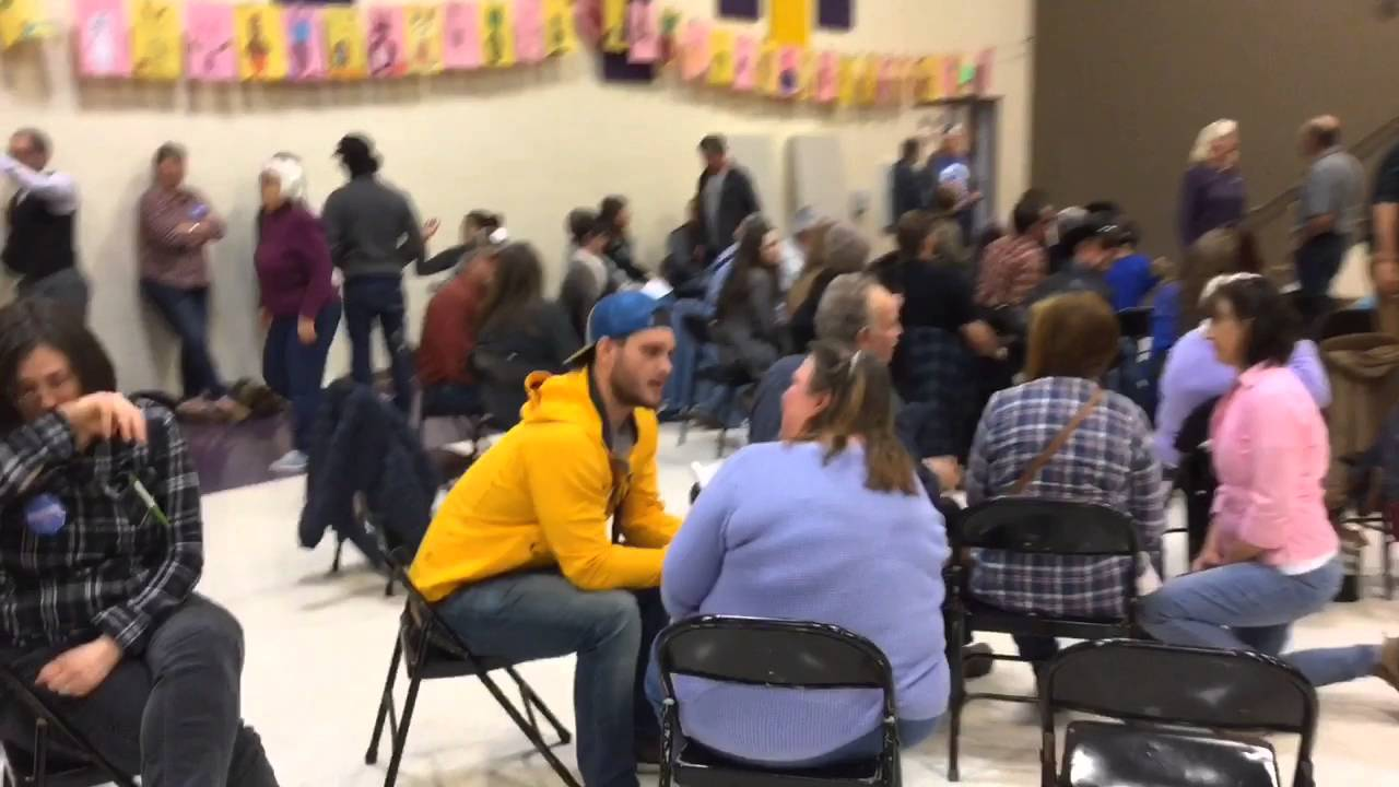 Sights, sounds of Boise County Democratic Caucus