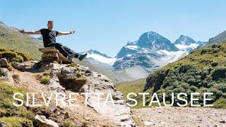 🇦🇹 Silvretta-Stausee: Přehrada v Alpách, kterou stojí za to navštívit