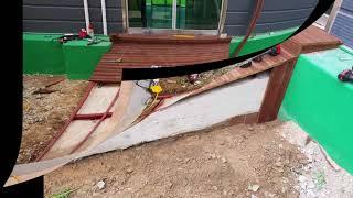 에코랜드 제작  데크  목재 데크  조경 시설물  바닥…