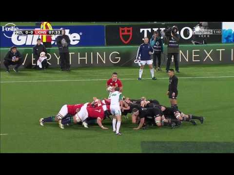 New Zealand All Blacks V British & Irish Lions 1 jul 2017 2nd test