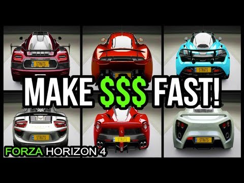 HOW TO MAKE MONEY IN FORZA HORIZON 4 (MUST WATCH)