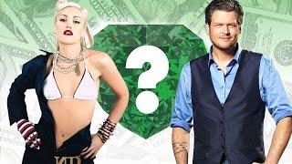 WHO'S RICHER? - Gwen Stefani or Blake Shelton? - Net Worth Revealed! (2016)
