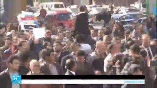 احتفالات بقرار القضاء تثبيت السيادة المصرية على جزيرتي تيران وصنافير