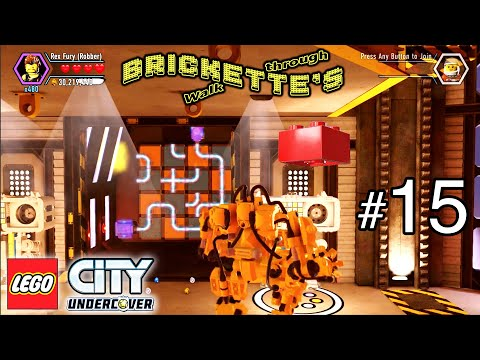 LEGO City Undercover Part 15 - ALL COLLECTIBLES, Rex Fury, Studs x10 Red Brick - Fly Me to the Moon