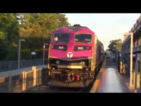Leominster: MBTA Commuter Trains (2035 Out/Inbound, 2034 Outbound) @ Leominster Station