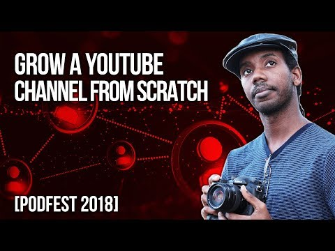 How To Build a YouTube Content Strategy | Podfest 2018 Keynote