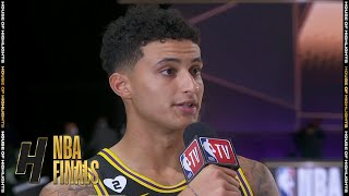 Kyle Kuzma Postgame Interview - Game 2 | Heat vs Lakers | October 2, 2020 NBA Finals