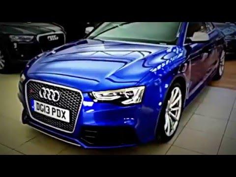 Audi Rs 5 Custom Blue Paint Very Rare Car Full Review 2016 Crezy Cars