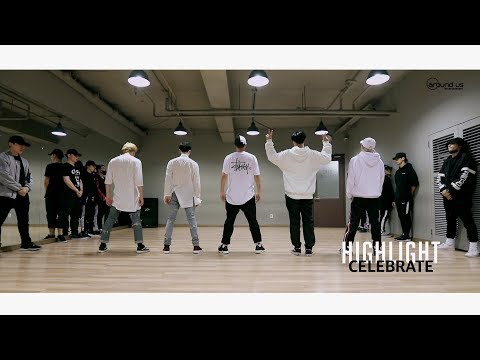 Download Youtube: [Dance Practice] 하이라이트(Highlight) - CELEBRATE 안무 연습 영상