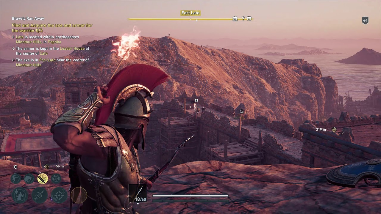 Bravely Ran Away Assassin S Creed Odyssey Quest Youtube