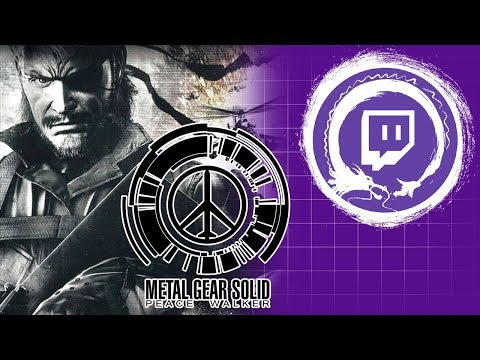 METAL GEAR SOLID: PEACE WALKER | Metal Gear Saga Part 42: MSF BFFs! | Stream Four Star