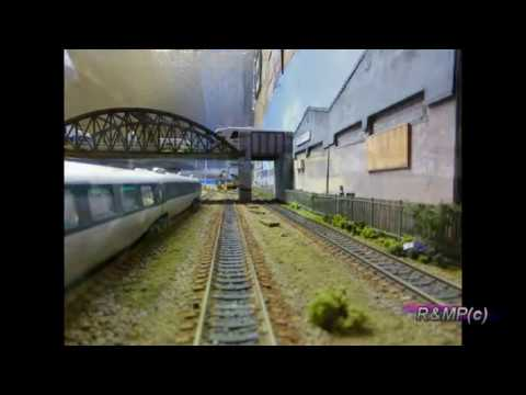 Building a Model Railway – (Part 2) Installing Laser Cut Fencing & Ground cover