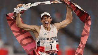 video: Watch: Joe Choong says makeshift shooting range in back garden helped him to pentathlon gold in Olympics