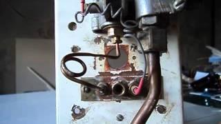 Как почистить запальник фитиль автоматики SIT.