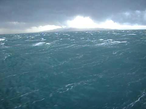 Fotos de tempestades em alto mar