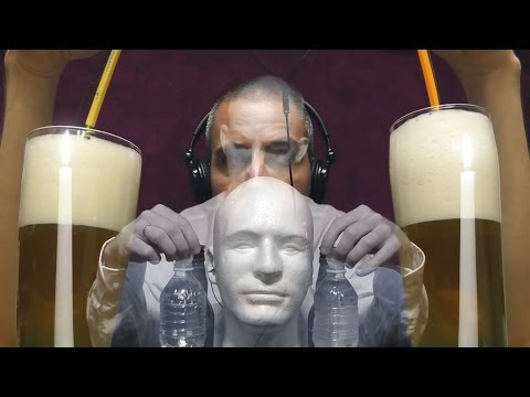 1 Hour of Binaural Beer Suds & Bottle Cap Sounds ( ASMR )