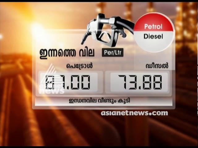 Drastically increasing fuel price in Kerala
