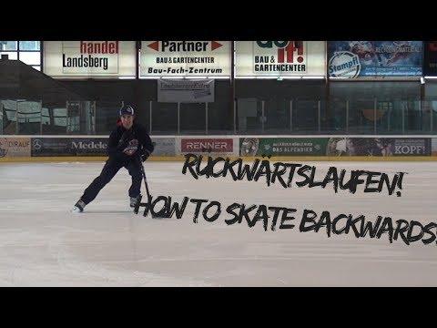 Schlittschuhlaufen: Rückwärtslaufen/ Backward Skating