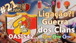 Clash of Clans HD Parte 21 - Centro de Vila 7 (CV7): Ligação?! - Guerra dos Clans