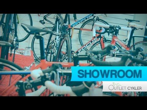 Cykel showroom og butik - Outlet-Cykler.dk
