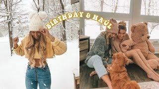 BIRTHDAY GIFTS & FASHION HAUL!
