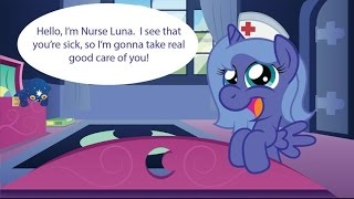 [MLP Comic Dub] Nurse Woona (cute/comedy)