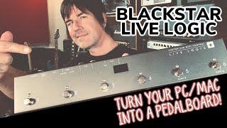 ROCK YOUR FAVORITE GUITAR PLUGINS/APPS LIVE! BLACKSTAR LIVE LOGIC