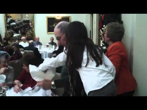 Pavarotti meets the Central Bank Pensioners Group