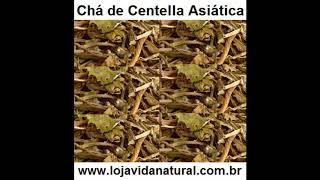 Chá de Centella Asiática - Loja Vida Natural