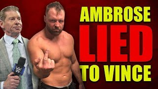 Why WWE Won't EVER Hire Jon Moxley (Dean Ambrose) & Why He Won't Ever Return!