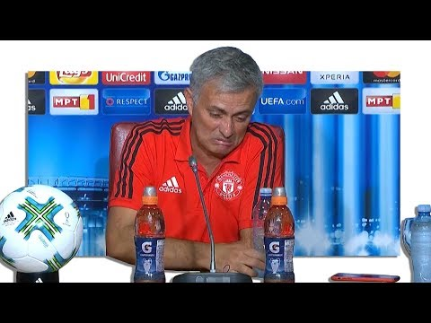 Real Madrid 2-1 Manchester United - Jose Mourinho Post Match Press Conference - Super Cup