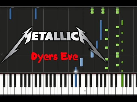 Metallica - Dyers Eve Synthesia Tutorial