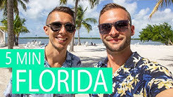 Florida in 5 Minuten 😎Florida Reisetipps für Florida Rundreise / Miami / Keys / Orlando