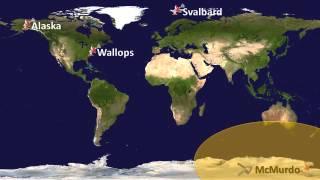 The IRIS Early Orbit Ground Track Animation