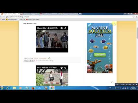 Google Adsense 100$ / day by khmer make money online