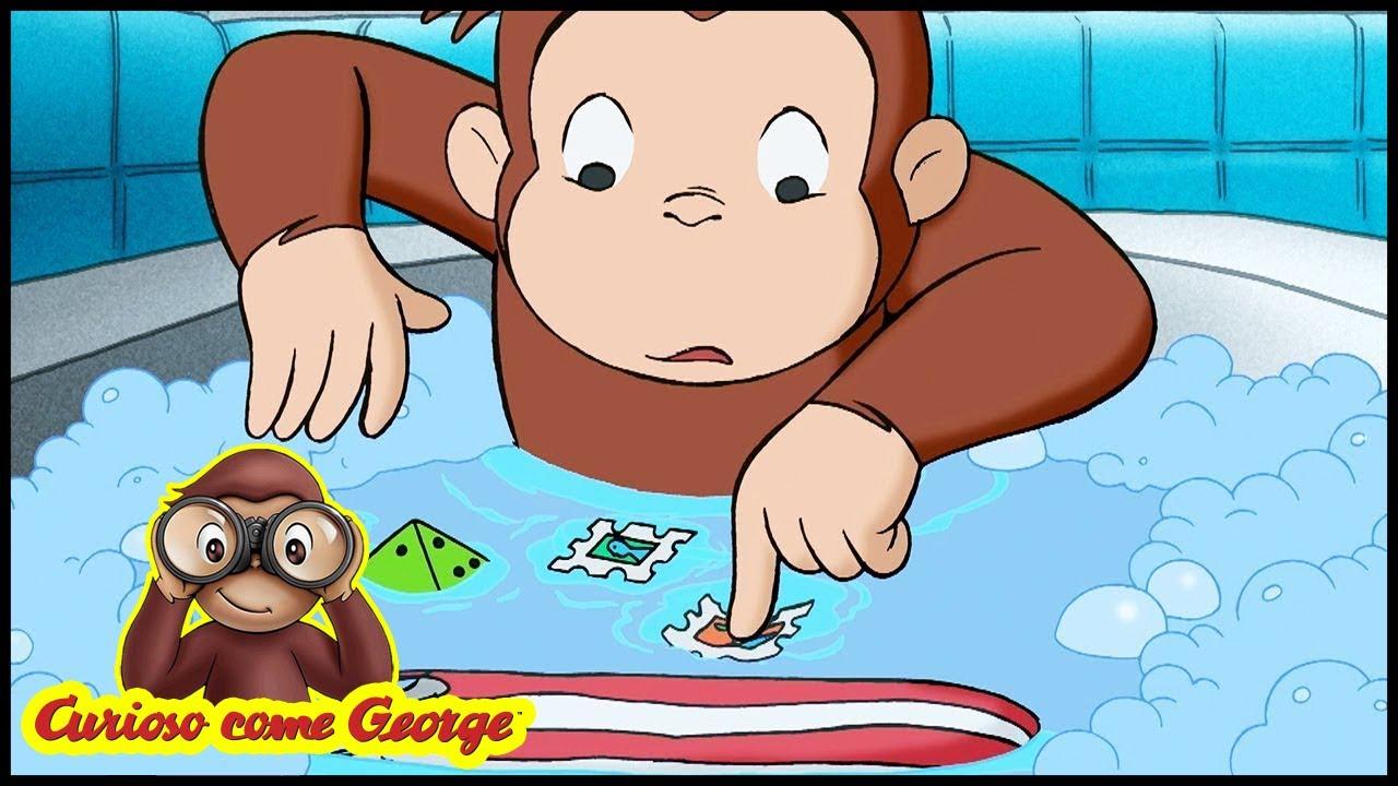 Curioso come george 🐵210 apprendista idraulico 🐵 cartoni animati