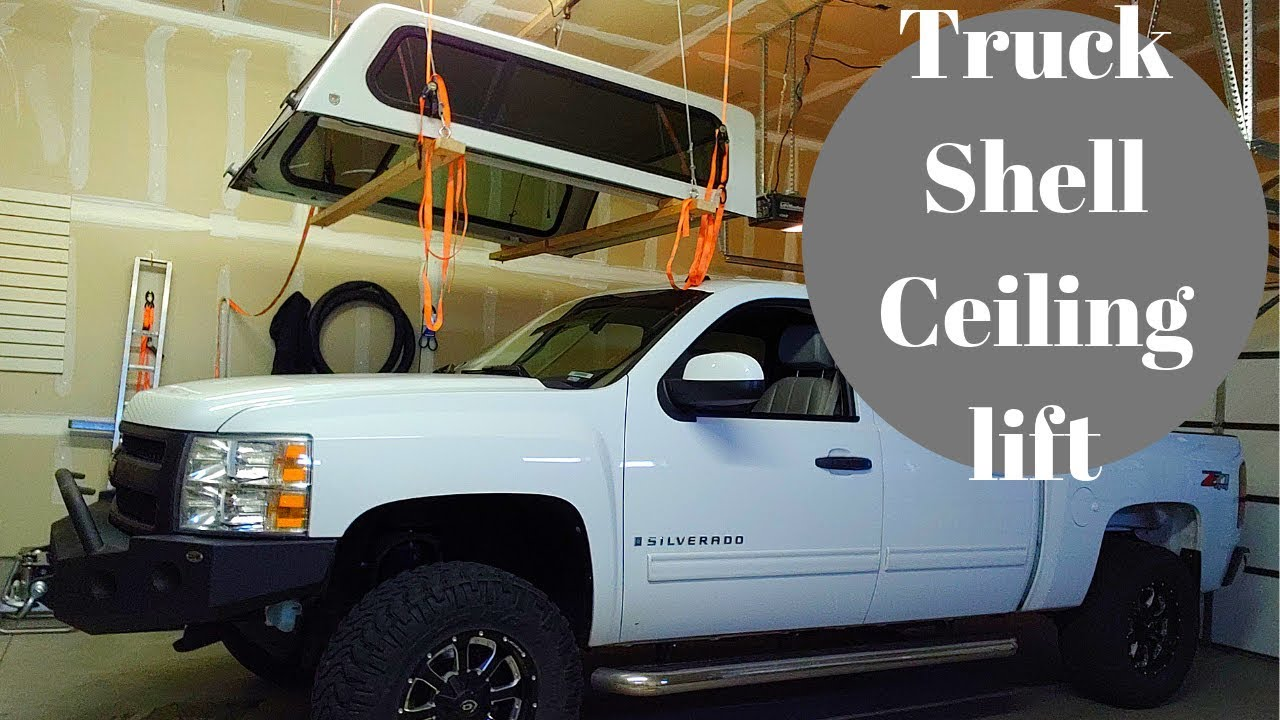 Cheap Easy Truck Camper Shell Lift
