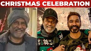 Rajini and Dhanush Christmas Celebration in US | Rajinikanth | Dhanush