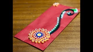 DIY | Designer Envelope | Shagun Cover | Paper Quilling Art