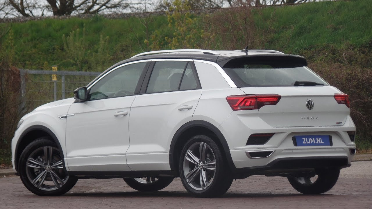 Volkswagen NEW T-roc R-Line 2019 Pure White 18 Inch