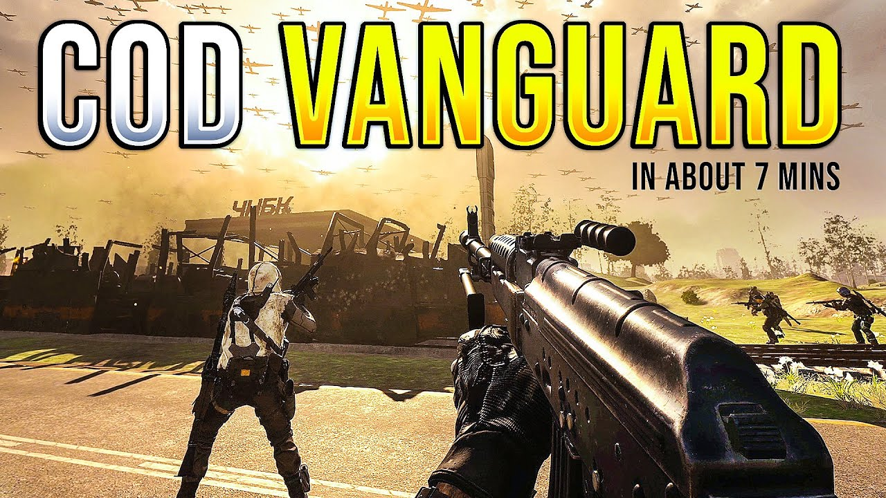 What systems can Call of Duty: Vanguard be played on?